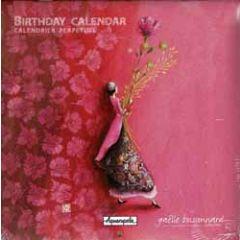 verjaardagskalender gaelle boissonnard - roze