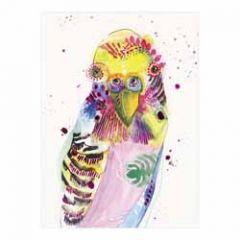 santoro eclectic cards -  parkiet - mullerwenskaarten