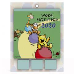 weeknotitiekalender 2020 - vis