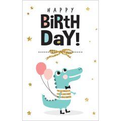 wenskaart - happy birthday - draak