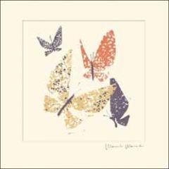 verjaardagskaart woodmansterne - vlinders