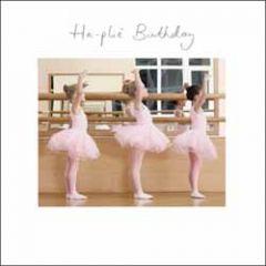 verjaardagskaart woodmansterne - ha-plié birthday - ballet