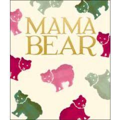 grote moederdagkaart woodmansterne - mama bear - beertjes
