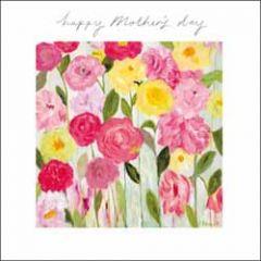 moederdagkaart woodmansterne - happy Mother's day - bloemen