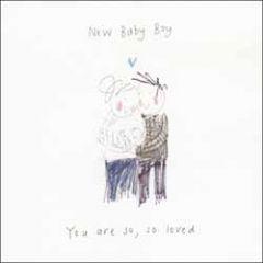geboortekaart woodmansterne - new baby boy you are so loved
