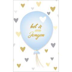 geboortekaartje - het is een jongen - ballon