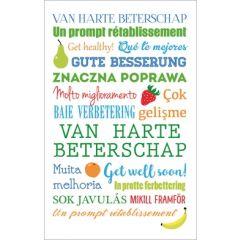 beterschapskaart - van harte beterschap - get well soon - gute besserung
