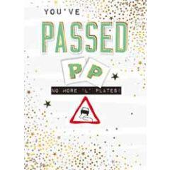 wenskaart - you've passed - rijbewijs