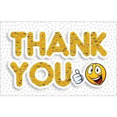 wenskaart - thank you - emoji