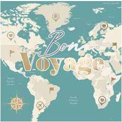 wenskaart second nature - bon voyage