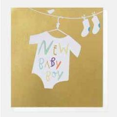 geboortekaartje caroline gardner super duper - new baby boy