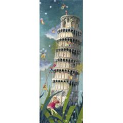 grote kaart 1/2 a4 correspondances - toren van pisa