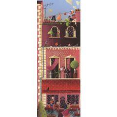 grote kaart 1/2 a4 correspondances - le saint amour - balkon