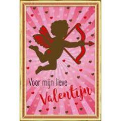 valentijnskaart - voor mijn lieve valentijn