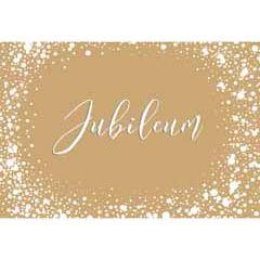wenskaart goldfever - jubileum