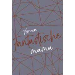 moederdagkaart - voor een fantastische mama