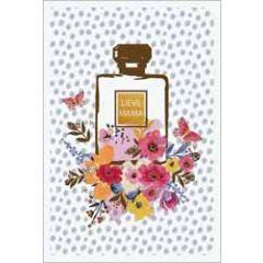 moederdagkaart - lieve mama - parfum