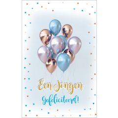 geboortekaartje - een jongen, gefeliciteerd!