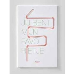 letterpress ansichtkaart met envelop - jij bent mijn favo rietje