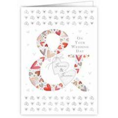 trouwkaart quire - on your wedding day groom and groom - homohuwelijk