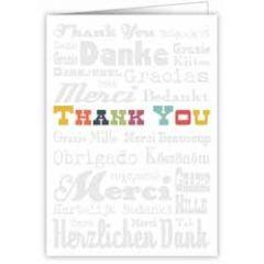 wenskaart quire - merci thank you bedankt