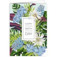 verjaardagskaart quire - happy birthday - bloemen