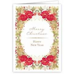 kerstkaart quire - merry christmas, happy new year