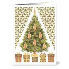 mini kerstkaart quire - kerstboom