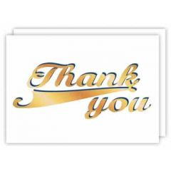 wenskaart quire - thank you