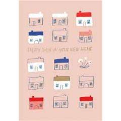 wenskaart nieuwe woning roger la borde - happy days in your new home
