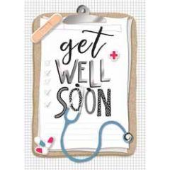 beterschapskaart - get well soon