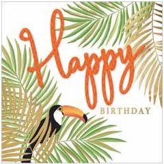 verjaardagskaart second nature - happy birthday - varens