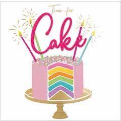 verjaardagskaart second nature - time for cake