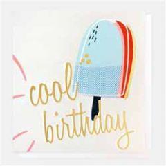 verjaardagskaart caroline gardner - cool birthday - ijsje