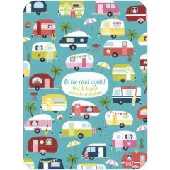 ansichtkaart - lali - zoekplaatje - on the road again!
