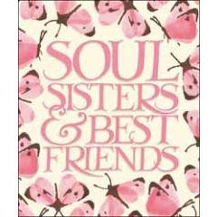 grote wenskaart woodmansterne - soul sisters & best friends - vlinders