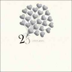 wenskaart woodmansterne - 25 silver years