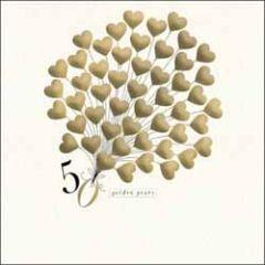 wenskaart woodmansterne - 50 golden years