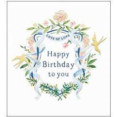 wenskaart woodmansterne - happy birthday to you