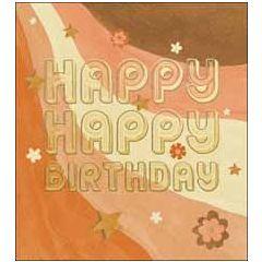 wenskaart woodmansterne - happy happy birthday