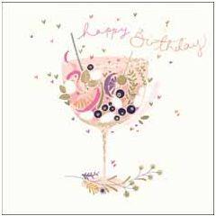 wenskaart woodmansterne - happy birthday - cocktail