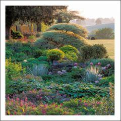 wenskaart woodmansterne - tuin