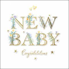 geboortekaartje woodmansterne - new baby congratulations