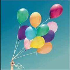 verjaardagskaart woodmansterne - happy birthday - ballonnen