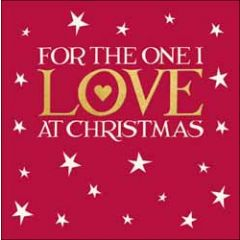 kerstkaart woodmansterne - for the one I love at Christmas - sterren