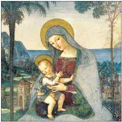 6 luxe christelijke kerstkaarten woodmansterne - madonna and child