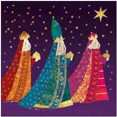 christelijke kerstkaart woodmansterne - drie koningen | muller wenskaarten