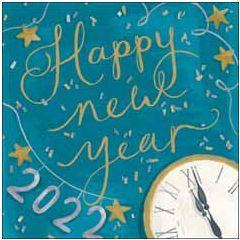 6 luxe nieuwjaarskaarten woodmansterne - 2022 happy new year