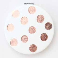 make up spiegeltje - zakspiegel - caroline gardner- stippen rose gold