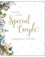 grote kerstkaart woodmansterne - wishing a very special couple a wonderful christmas
